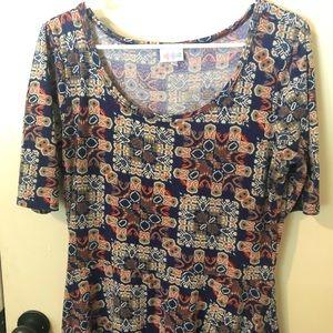 LuLaRoe Ana Dress - Large